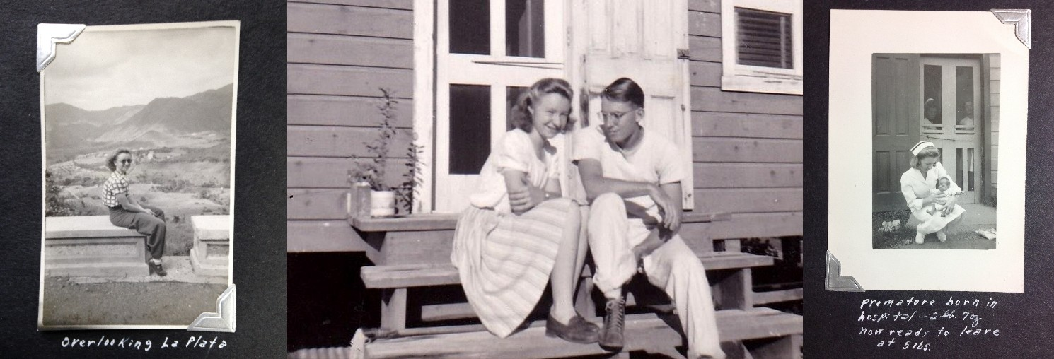 Jan's parents in Puerto Rico in the 1940's volunteers Mennonite Church